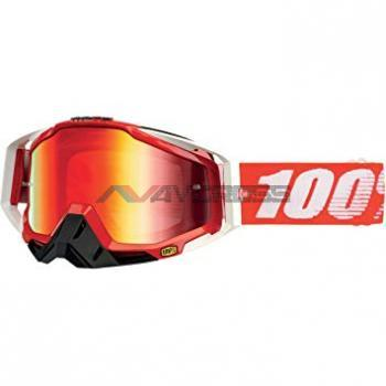 MASCHERA 100% RACECRAFT FIRE RED